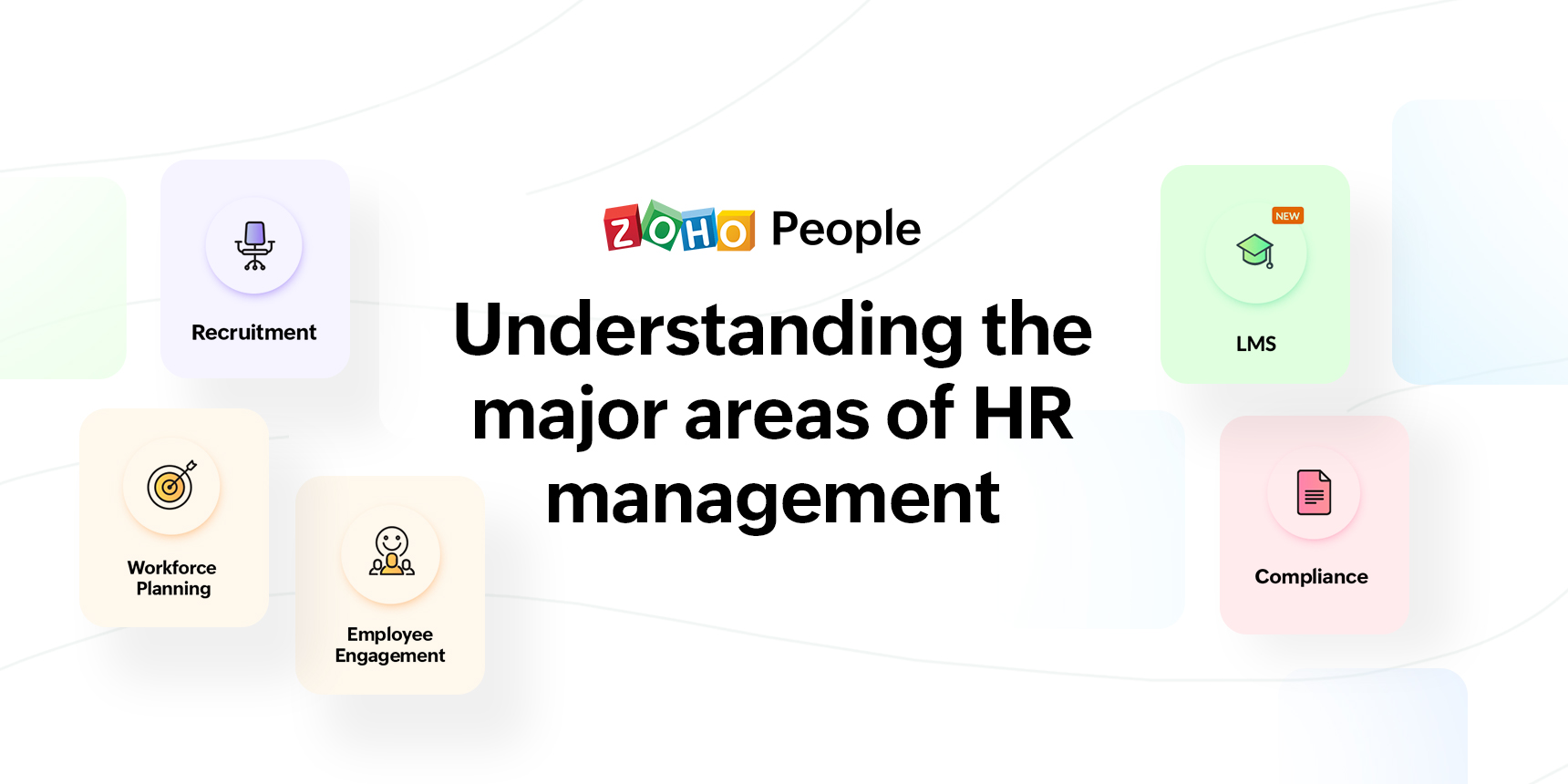 Five major areas of HR Management