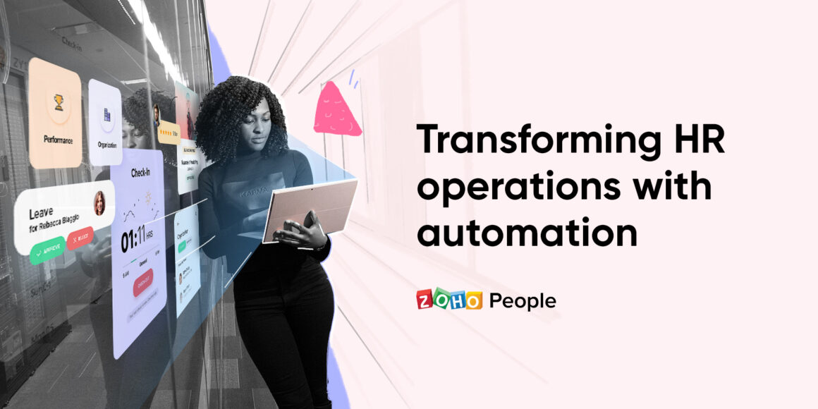 Transforming HR functions with automation
