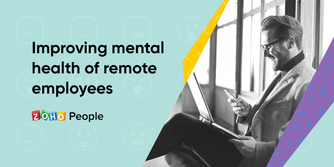 Improving mental health of remote employees