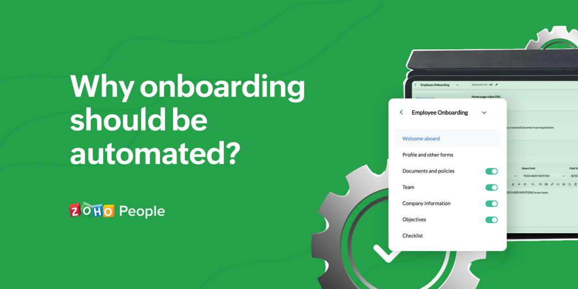 Benefits of automating onboarding