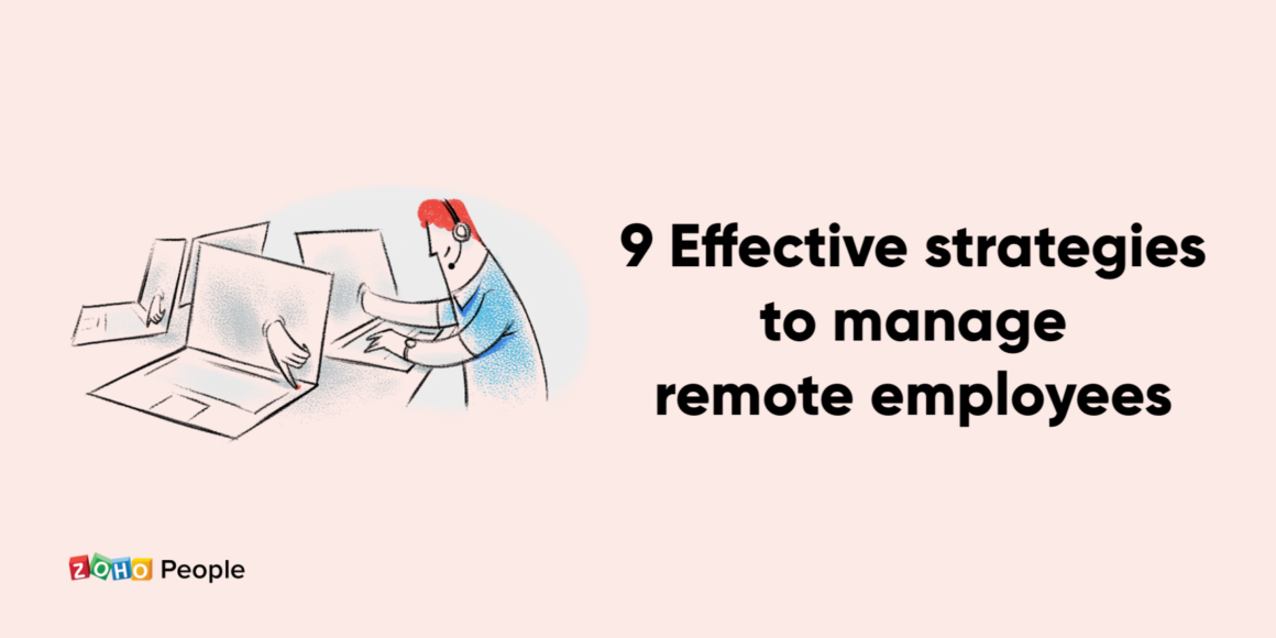 Tips to manage remote employees