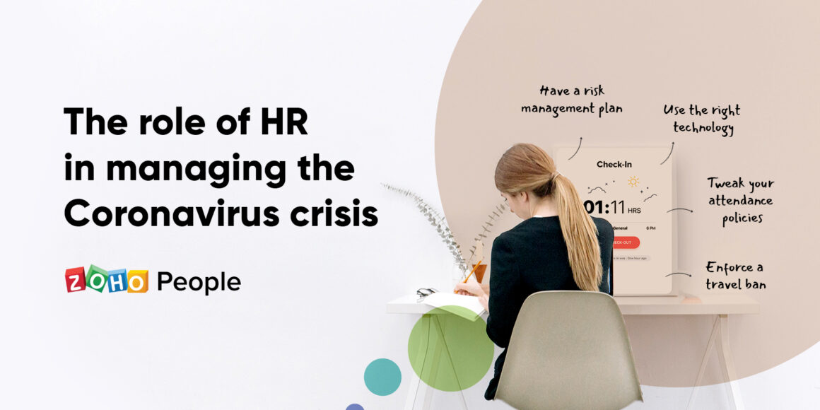 The role pf HR in managing the Coronavirus Crisis
