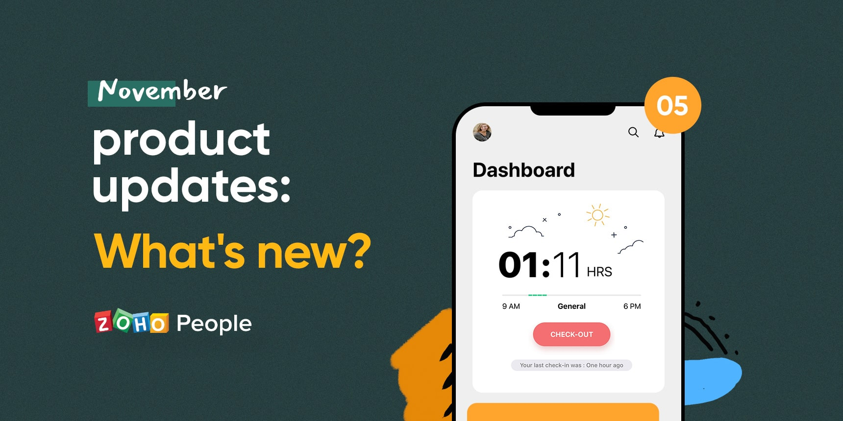 November Product updates - Zoho People