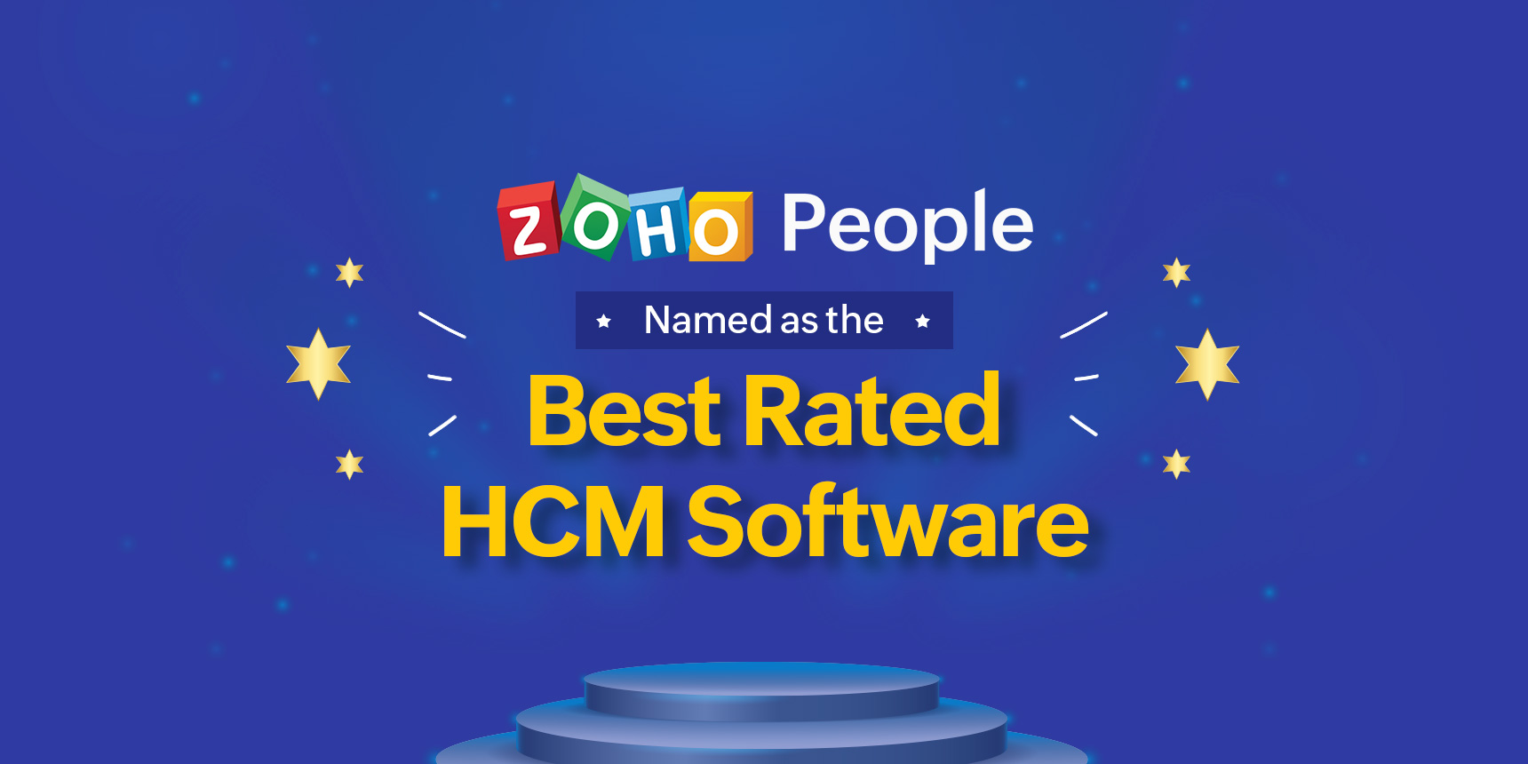Zoho People named as the best HCM software