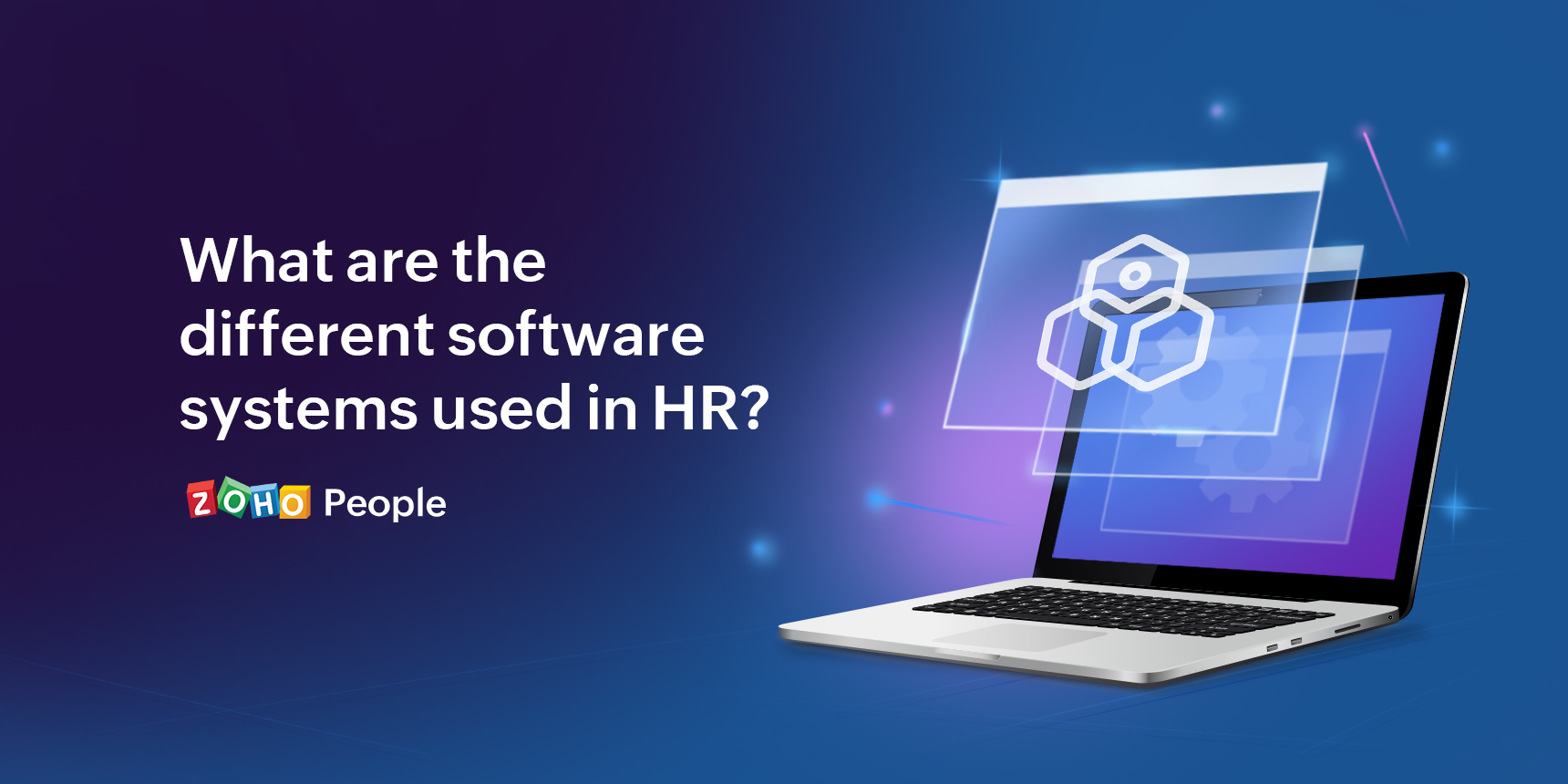 Different software systems used in HR professionals