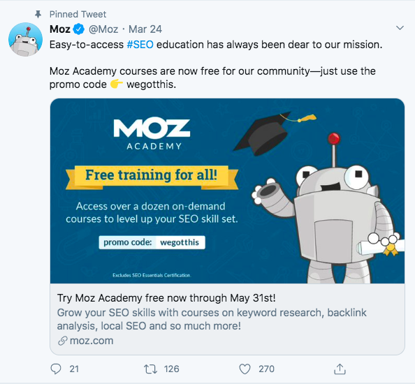"""MOZ Free study courses"""