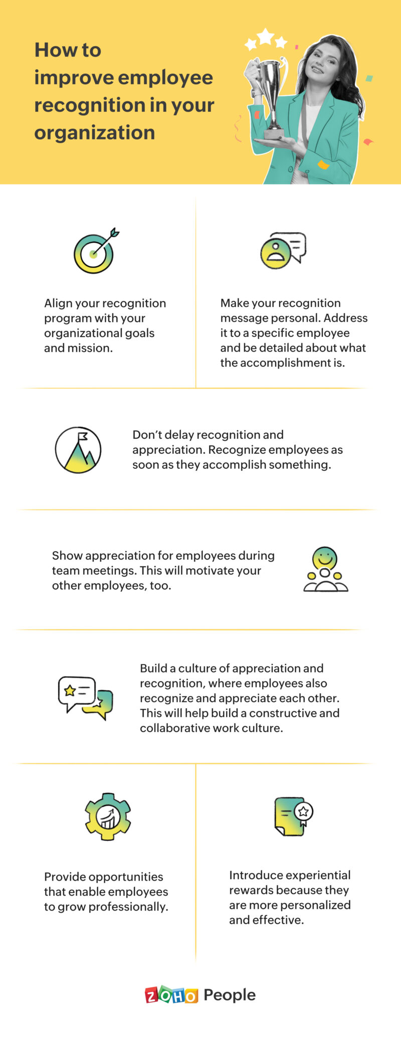 """Tips to improve employee recognition"""