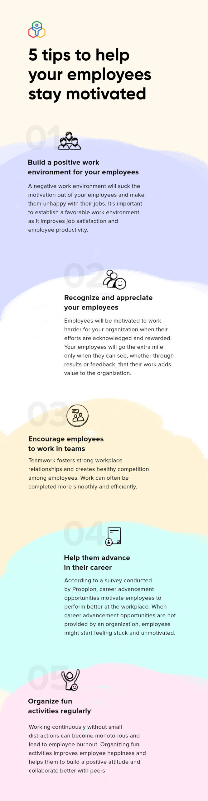 """""""5 tips to help your employees stay motivated"""""""