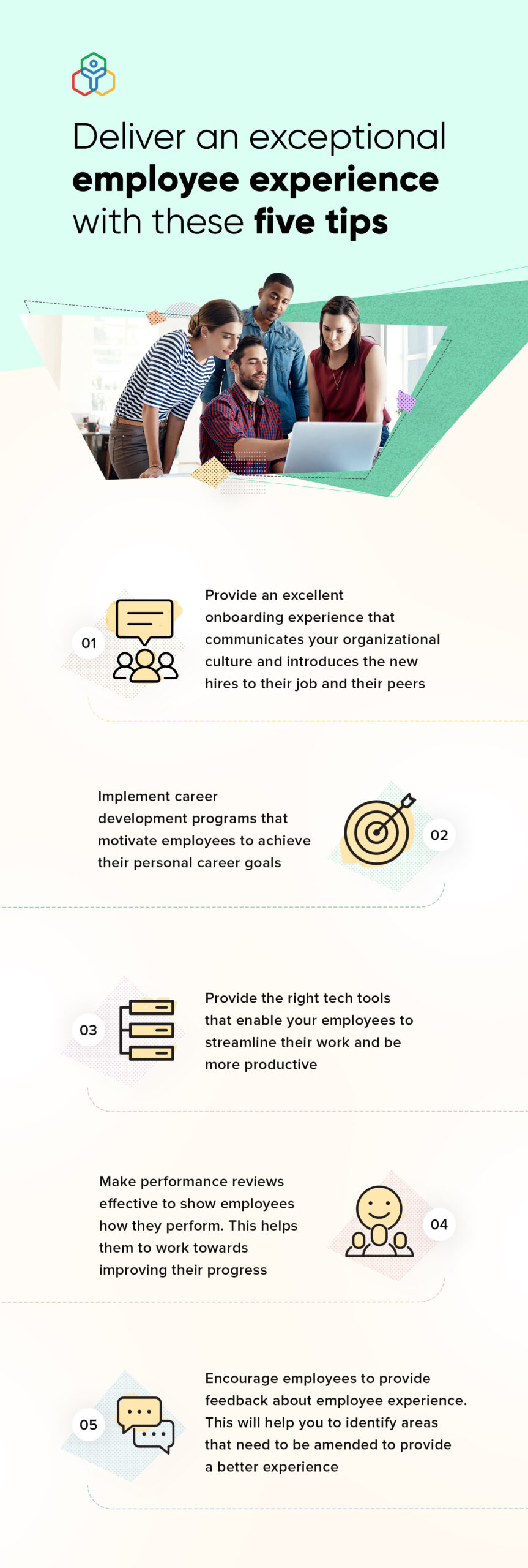 """""""tips to improve employee experience"""""""
