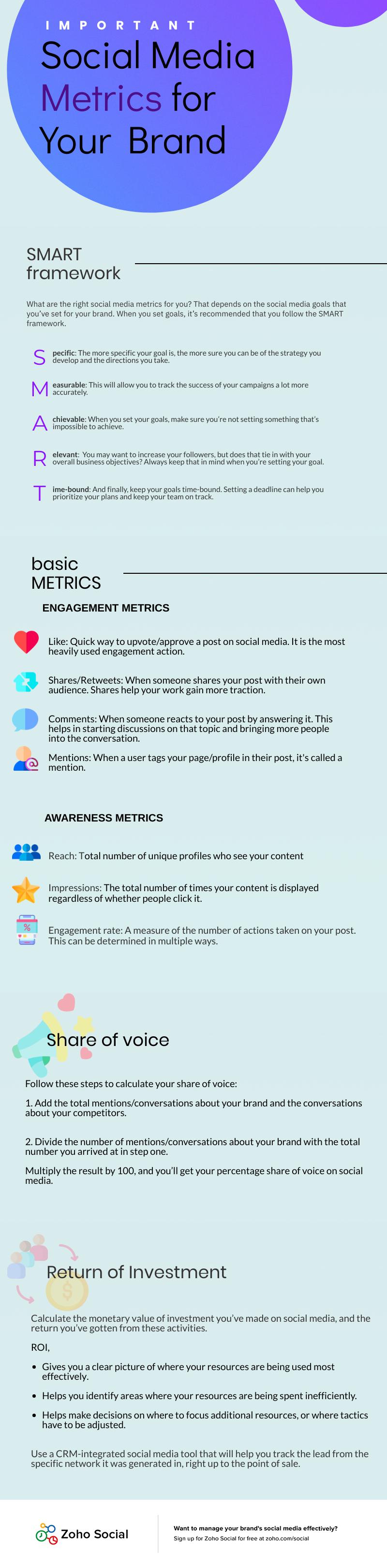 important social media metrics for reports